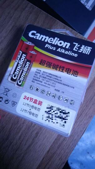 飞狮(Camelion)碱性电池 干电池 6LR61/9V/9伏 电池 12节 万用表/烟雾报警器/话筒/麦克风/医疗仪器 晒单图