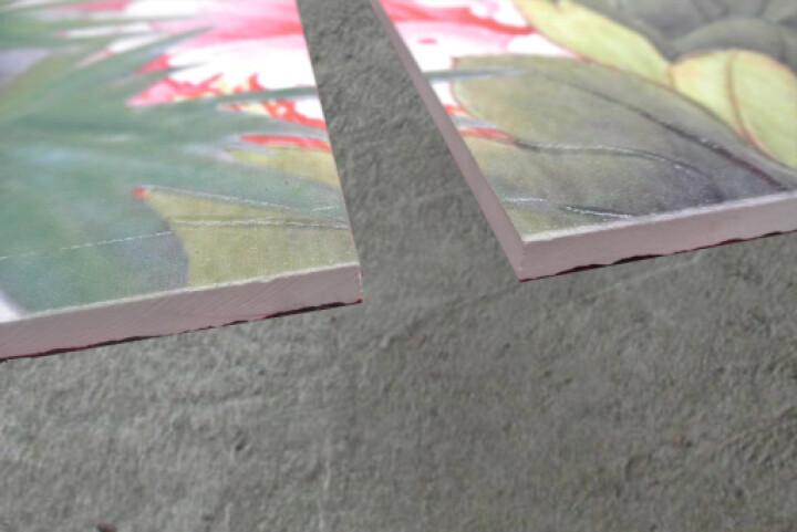 瓷刻 客厅电视背景墙 瓷砖 电视墙  百鸟朝凤 微晶石+精雕/0.1平方米 晒单图
