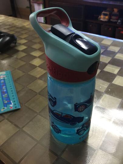 contigo 美国康迪克 小发明家儿童吸管杯 便携水杯子 宝宝防漏水壶 卡通儿童杯 二代汽车总动员 450ml 晒单图