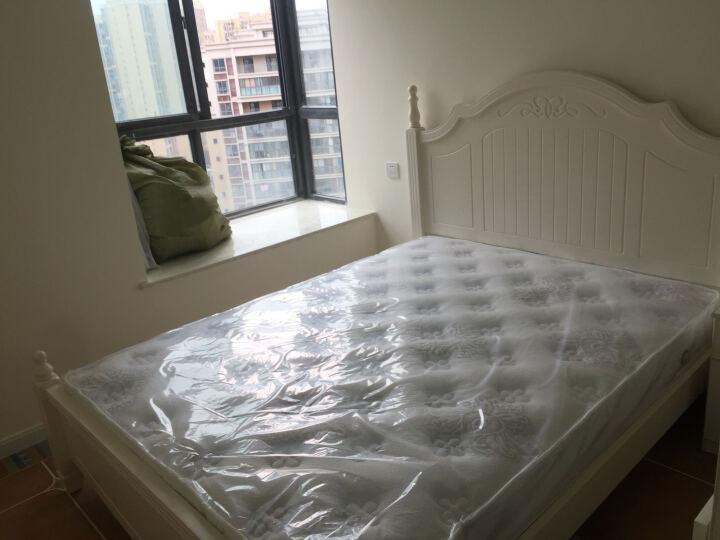 全友(QUANU) 独立弹簧健康床垫 静音防螨床垫 软硬适中席梦思床垫 105057 床垫 1500*2000 晒单图