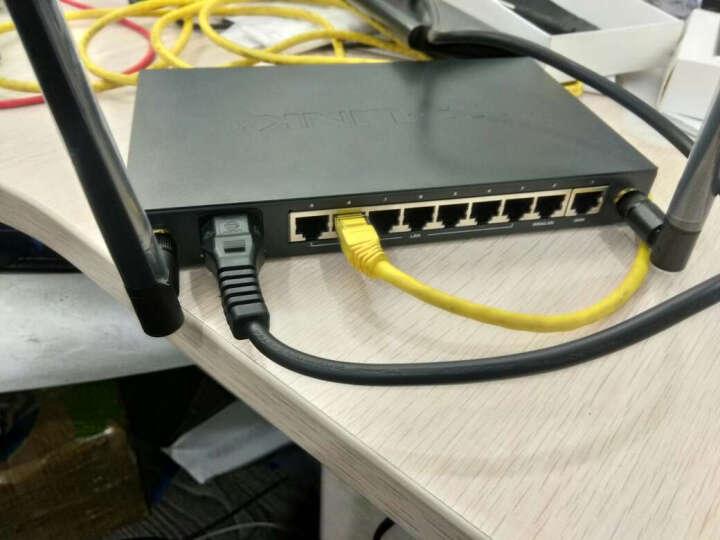 TP-LINK WAR308 双WAN口8口有线钢壳企业级光纤办公家用VPN无线路由器上网行为管理 晒单图