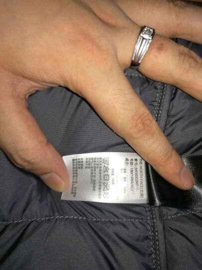【经典款】TheNorthFace北面舒适宽松剪裁保暖户外男羽绒服|CZ47 D7Q/蓝色 M 晒单图