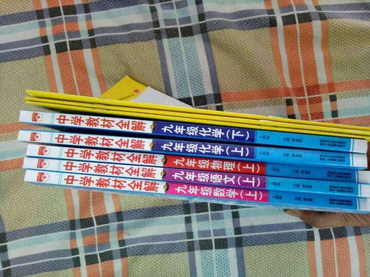 薛金星中学教材全解九年级上册语文书配人教版语文书9年级上册课本教辅书 晒单图