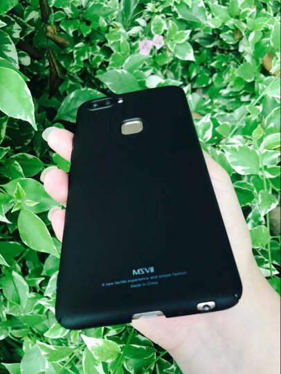 【热卖中】摩斯维 vivo X20手机壳X20A保护套硬壳防摔全包磨砂款 x20plus UD【玻璃壳-素雅粉】 晒单图