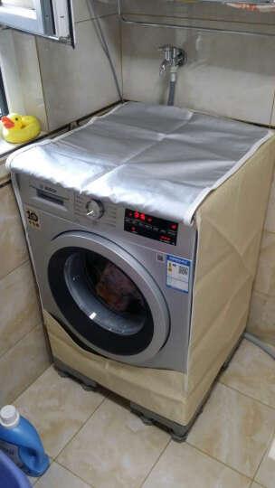 博世(BOSCH) 9公斤 变频 滚筒洗衣机 静音 除菌(银色)XQG90-WAP242681W 晒单图