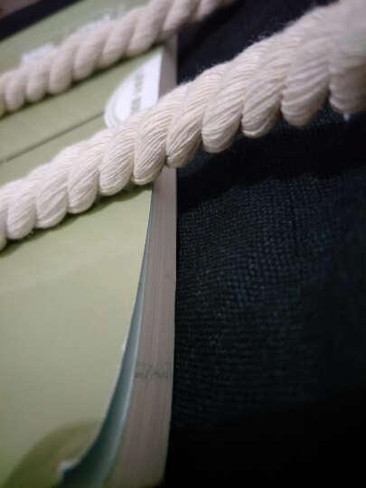 生活驿站简约森系新款女包韩版女帆布带包袋印花学生包女单肩手提包 白色别惹我 晒单图