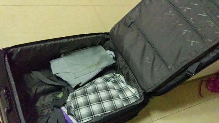 瑞动(SWISSMOBILITY)拉杆箱20英寸商务电脑登机行李箱(含轮22英寸)静音万向轮旅行箱男女 5512黑色 晒单图