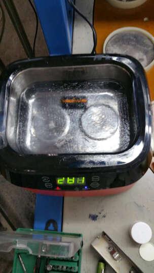 洁盟(skymen) 超声波清洗机 家用 洗眼镜机 手表珠宝首饰清洗机 JP-1200B 红色 晒单图