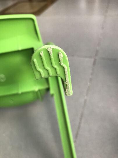 申永幼儿园桌椅 幼儿园椅子幼儿园椅子 塑料板凳子小靠背椅 大号橘黄色 晒单图