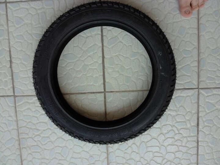 千里马加厚耐磨电动车轮胎14/16/18x2.125/2.5/3.0 16X2.125电动耐载王(外胎+内胎) 晒单图