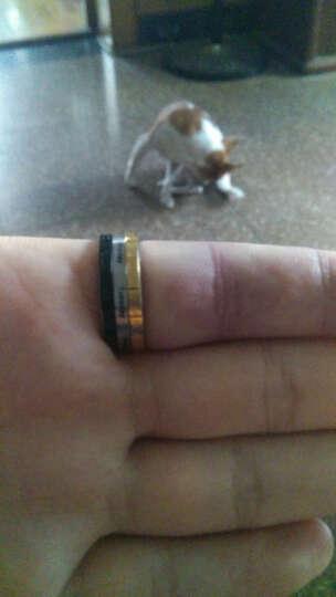 翼力 戒指男潮 欧美男士饰品个性尾戒指环 霸气食指中指戒子 罗马数字可转动 可刻字 美号11号(内直径20.7mm) 晒单图