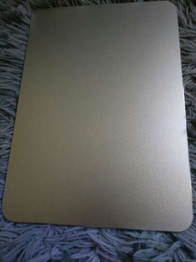 bejoy 铝合金鼠标垫 电脑笔记本游戏鼠标垫 桌面金属电竞鼠标垫 银色 小号 晒单图