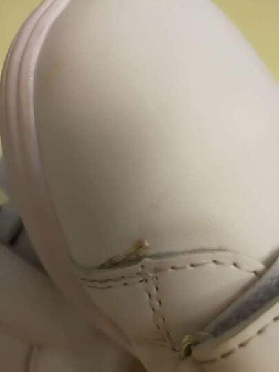 迪士尼女童鞋儿童网面运动板鞋小白鞋大童网鞋2018夏季新款透气夏款鞋子男舒适 粉色 30 晒单图