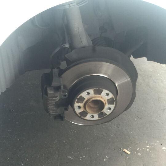 泰明顿(TEXTAR) 适用于宝马刹车盘 前刹车盘 单只装 X5/X6 晒单图