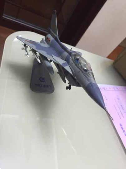 特尔博 新款1:72歼10战斗机飞机模型摆件仿真合金金属模型 军事模型航空航模 工艺品摆件 中航双座 晒单图