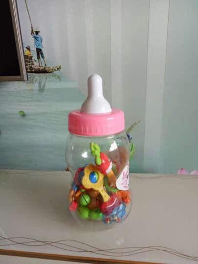 源乐堡婴儿玩具手摇铃新生儿宝宝牙胶 大号 95cm(充电)精灵之舞遥控版 粉色 晒单图
