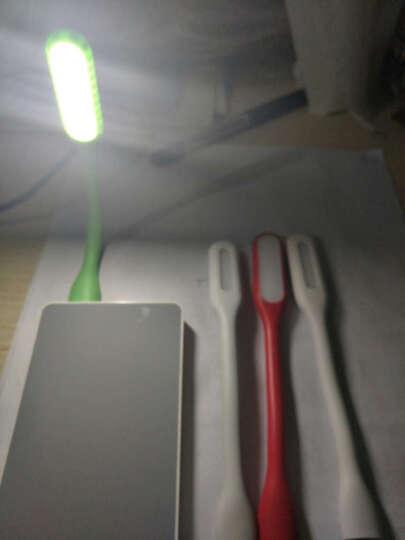 优思必 USB接口灯 台灯 学生护眼灯节能随身小夜灯便携式迷你创意阅读灯键盘灯 白色普通版不带开关 晒单图