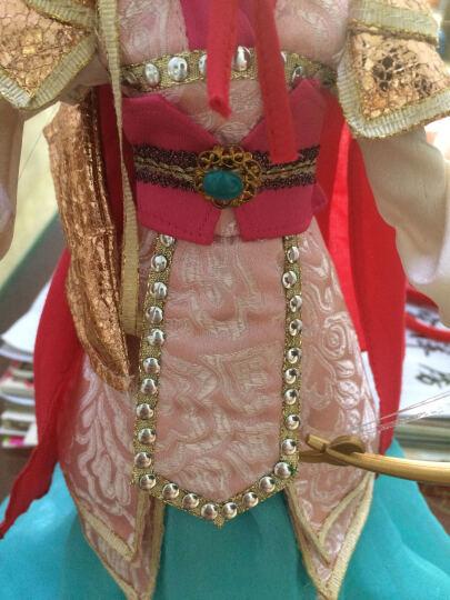 可儿娃娃(Kurhn)中国公主系列 木兰从军 古装娃娃 女孩玩具生日礼物 10关节体9094 晒单图