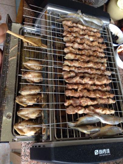 尚烤佳 电烧烤炉 烧烤架家用韩式无烟烤串机双层SKJ-079 晒单图