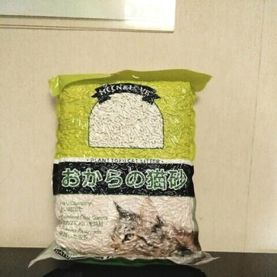 猫砂可冲厕所原味植物豆腐猫砂结团除臭仓鼠垫沙猫沙豆腐砂6L 豆腐猫砂6L 晒单图
