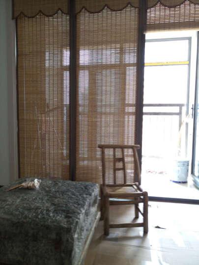 理想家 特价竹窗帘.升降竹卷帘 餐厅.书房.阳台窗帘 环保古朴风 ZL07 0.1平米 晒单图