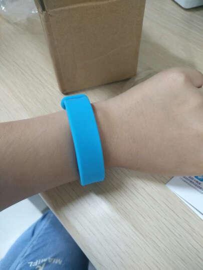 正港(ZGO)电子表男女学生韩版简约运动智能手环中学生情侣手表 天空蓝 晒单图