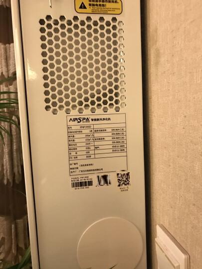 艾尔斯派(AIRSPA)壁挂式新风机全屋新风净化除甲醛双向流新风系统全热交换除甲醛空气净化器电辅热 HYQF260GD舒适型 晒单图