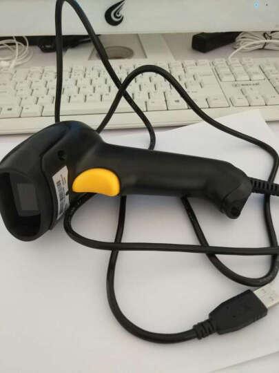 科密 H6有线一维条码扫描枪 商品收银扫描器微信支付 可扫屏幕 晒单图