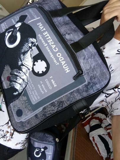 花朵 外星人玩家国度微星电脑包15.6英寸笔记本包17.3英寸手提包 加厚游戏本包 猩猩 18英寸(新款外星人/玩国家度建议选) 晒单图