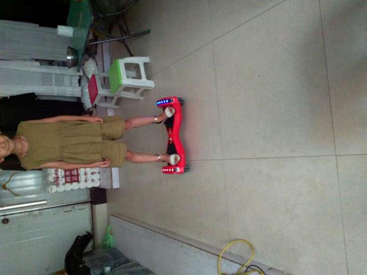 Freego平衡车两轮成人代步车智能双轮体感车电动自平衡车儿童扭扭车 8英寸深邃蓝   蓝牙音响+自平衡+APP 晒单图