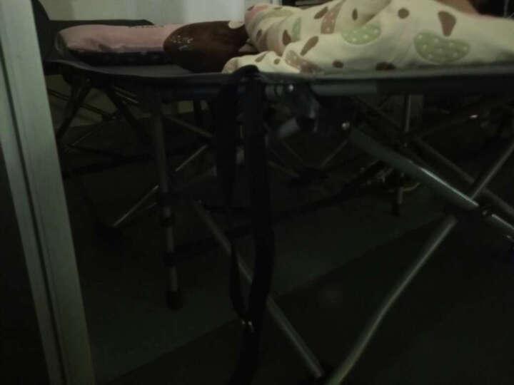 尚派(Sunbelt) 尚派单人午休折叠床午休床户外躺椅行军床陪护床午睡床 加固款折叠床 B601S蓝色+蓝床垫+空调被 晒单图