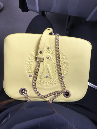 VERSACE JEANS 范思哲 女士粉色聚酯纤维手提链条单肩斜挎休闲包 E1VPBBA9 75600 512 晒单图