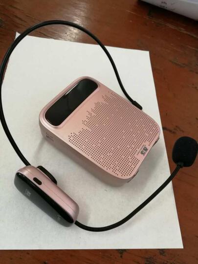 索爱(soaiy)S-658 18W大功率 UHF无线扩音器大功率小蜜蜂教师教学专用无线便携扩音机 玫瑰金 晒单图