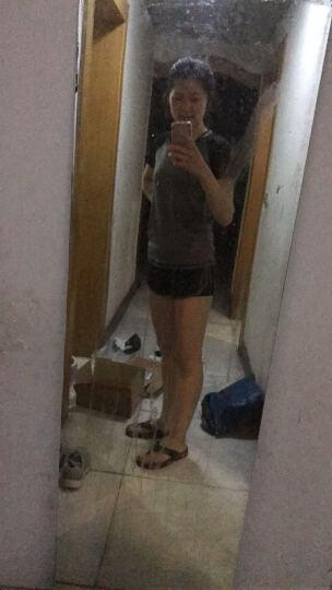 范迪慕(FANDIMU) 瑜伽服套装健身服运动服女修身显瘦瑜珈速干衣五件套装 W2018-纯黑色-外套五件套 L 晒单图