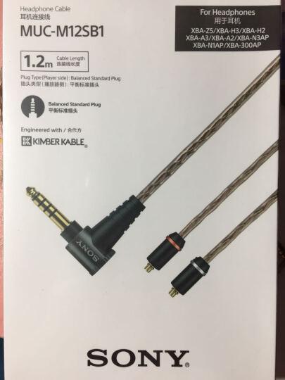 索尼(SONY)NW-WM1A 黑砖 MP3无损音乐播放器 高解析度Walkman 晒单图