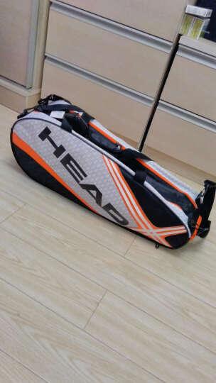 海德(HEAD) 网球拍包单双肩包 六支装男女款容量大 黑色限量版 晒单图