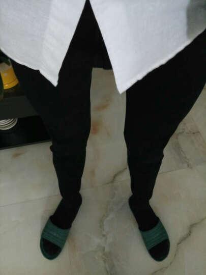 袋鼠秋裤男单件纯棉薄款保暖裤男款打底贴身棉毛裤 浅麻灰 XXL(180/105) 晒单图