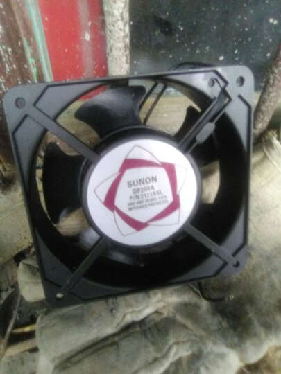shthde 交流轴流风机电器柜散热风扇配电箱排气扇散热风机排气风机工业风机电气机柜用 AC 220V 晒单图
