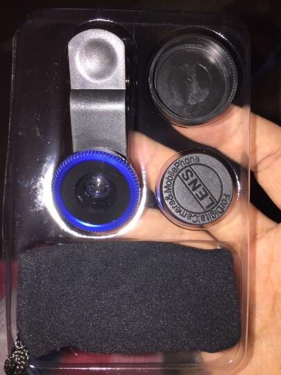 苹果手机镜头长焦/广角/鱼眼/微距适用iPhone7/6s/OPPO/VIVO/小米单反拍照外置镜头 广角+微距二合一 光学镀膜镜片W05 晒单图
