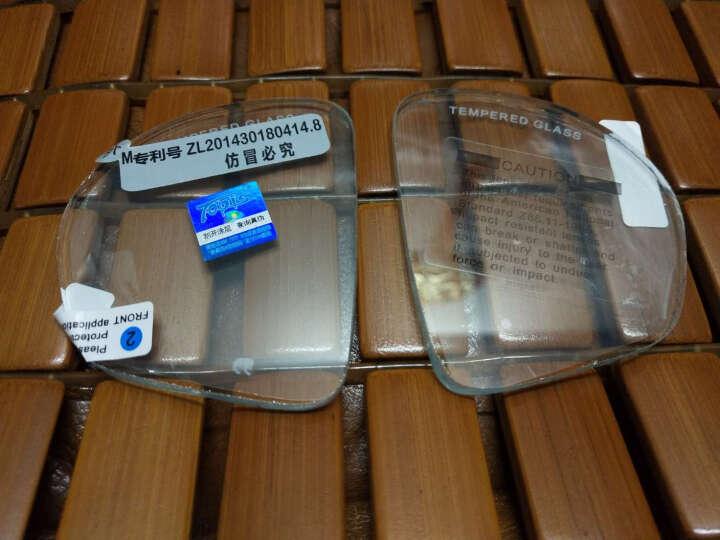 TOPIS浮潜M2011M220潜水镜钢化玻璃/树脂近视镜片 渐变蓝 送防雾剂 晒单图