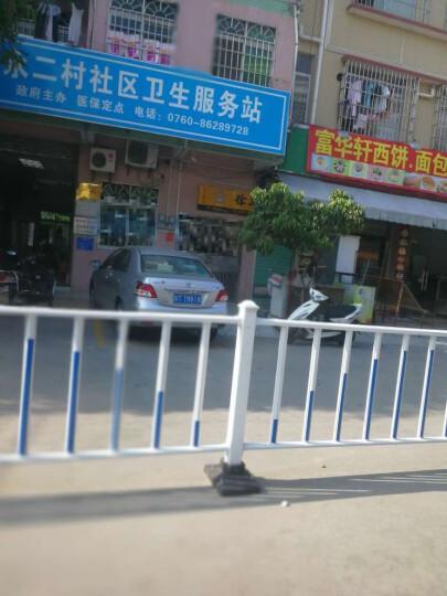 九牛道路护栏公路市政隔离栏杆锌钢护栏围栏交通设施防撞活动护栏 120cm高护栏 晒单图