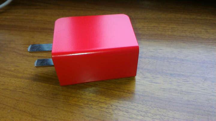 绿巨能(llano) 手机充电器 多口双USB充电头便携式 2.4A快充 适用安卓三星S7/S8华为Mate9/10荣耀系列等 蓝色 晒单图