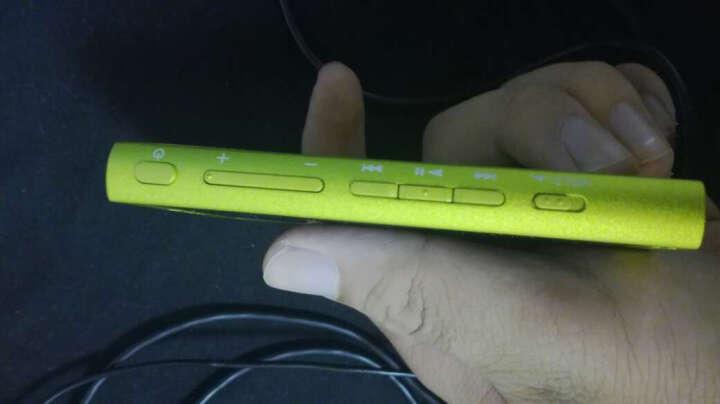 索尼(SONY) NW-A35 MP3无损音乐播放器 高解析度Walkman(不含耳机) 柠檬黄 晒单图