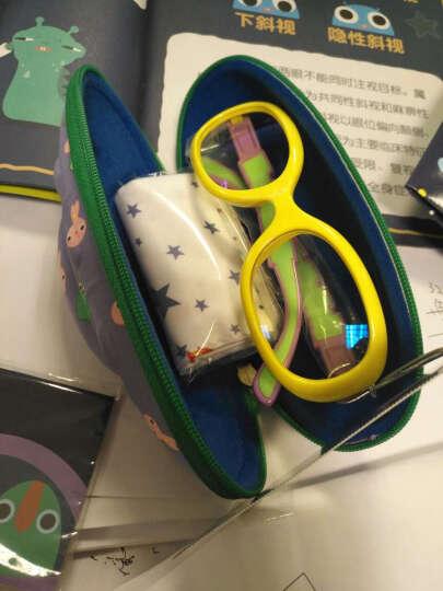 P8866星球儿童防蓝光防辐射眼镜小孩看手机保护眼睛护目平光镜 柠檬黄P8803-B2 晒单图