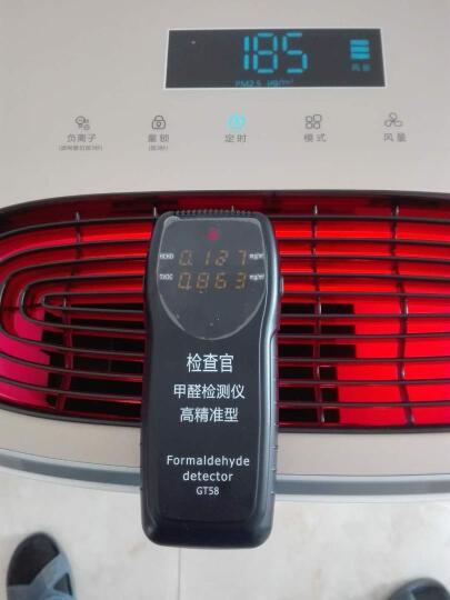 TCL 空气净化器家用 除甲醛雾霾烟尘智能遥控TKJ619F-A1 天鹅白 晒单图