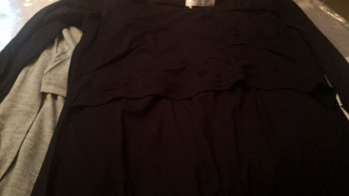米度丽 【买一送一】哺乳衣外出夏装大码孕妇T恤产后喂奶衣长袖月子服春夏哺乳装短袖上衣 短袖-粉红色 L码 晒单图