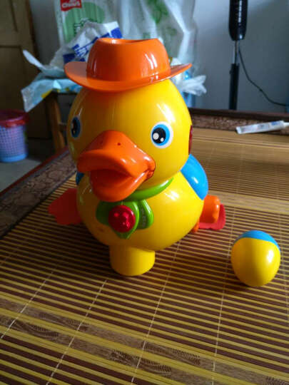 活石 婴儿爬行玩具 儿童益智故事机宝宝声光早教机 下蛋小黄鸭 晒单图
