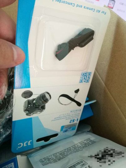 JJC 索尼A6400 A6300 A6000+16-50镜头相机内胆包钢化膜贴膜遮光罩无线遥控器UV镜热靴盖清洁套装镜头笔气吹 晒单图
