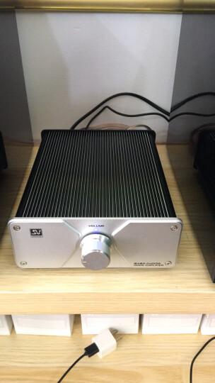 索威 (SV) SA60 功放 家用 HIFI迷你功放器 音响功放机(银色) 晒单图