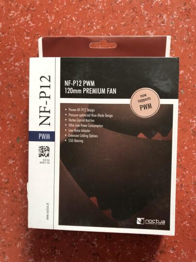 猫头鹰(NOCTUA)NF-A8 FLX 8cm风扇(CPU机箱风扇/3PIN/2000RPM) 晒单图